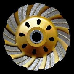 """5""""pulgadas vitrificados Muelas de Diamante de bonos para los materiales magnéticos"""