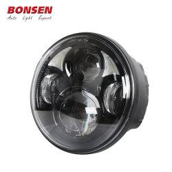 Bonsen Novo Produto 5.75polegadas farol LED Anjo Halo Anel ocular LED DRL 12V e 24V Amber Sinaleiras Direcionais para 5.75polegadas carros de luzes