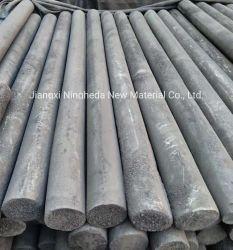 Perfis extrudados de haste de grafite eléctrodo de grafite para processamento de CNC