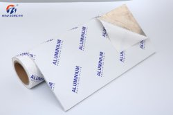 Película de protecção de PVC impresso para a porta e protecção de superfícies de alumínio