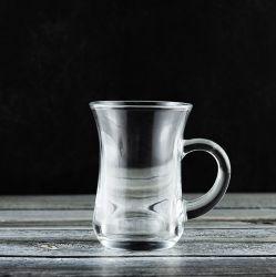 190ml verre à boire une tasse avec poignée verres en verre de coupe de l'eau potable (P9065)