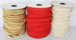 PU tiras elásticas, Banda elástica de cuero, cuero sintético Elasitc, envolver las tiras de cuero elástico