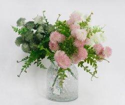 Fake Flower Ball Bola Erva planta artificial de casamento bouquet de flores artificiais