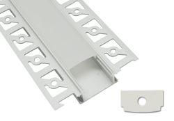 Vertiefter Aluminium-LED Aluminiumprofil-Kanal des China-heiße Verkaufs-Trockenmauer für im Freienbeleuchtung