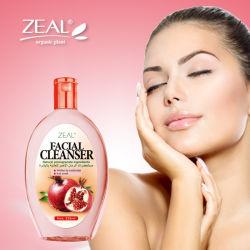 Eifer-Haut-Sorgfalt-Granatapfel, der Gesichtsreiniger weiß wird u. befeuchtet