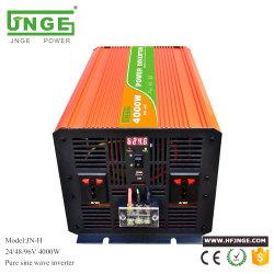 Durable onda sinusoidal pura de 4000W de potencia Onverter con pantalla LED y un cargador USB (48VDC a 120VAC).