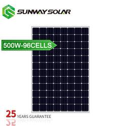 ein monokristallines flexibles Sonnenenergie-Panel der Kategorien-Qualitäts-500W