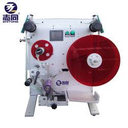 Autocollant de papier semi-automatique de l'étiquetage de la machine pour bouteille ronde peut