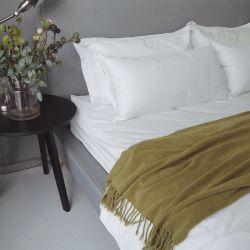 ポリエステル満ちる枕が付いている贅沢なジャカード100%年の綿の枕カバー