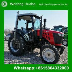 prix d'usine 80HP tracteur 4X4 de la climatisation de cabine