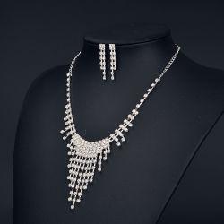 Boda moda collar de aleación de conjunto de la Joyería nupcial