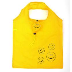 再使用可能なナイロンFoldableショッピング・バッグ、昇進小さい袋のEcoreusableの環境に優しいトロリーショッピング・バッグのナイロン袋のフォールド