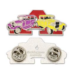 Mercadoria dons logotipo impressão personalizados promocionais pino de metal do botão de folha de flandres