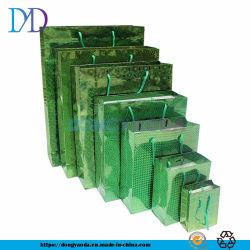 Fördernde Laser-blaue Farben-UVkunst-Einkaufen-Verpackungs-und Geschenk-PapierEinkaufstasche