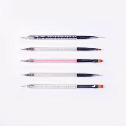 2.o Gel de UV do lado do desenho de acrílico Pintura de Arte de unhas demasiados pormenores de feltro