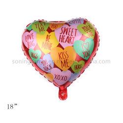 Dto0104 18 Zoll-Inner-geformter Hochzeitsfest-Dekoration-Liebes-Aluminiumfolie-Ballon
