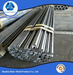 6061/6063 en alliage aluminium Barre ronde, tige en aluminium.