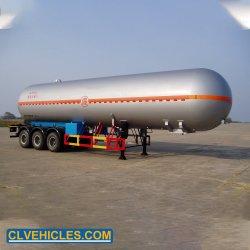 3 54m3 de l'essieu 56m3 59.6m3 semi-remorque de camion-citerne GPL