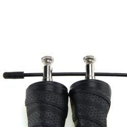 Usine de caoutchouc éponge de remise en forme de gros de la poignée corde à sauter lourd avec impression