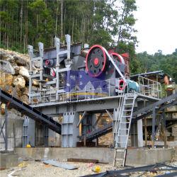 À l'arrêt ligne de production de concasseurs de granit de pierre pour le Quartz/granit/l'écrasement de basalte