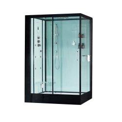 Un luxueux hotel carré Portable Salle de bains avec douche à vapeur COULISSANTE DE CABINE