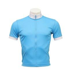 Calcio asciutto veloce Short-Sleeved Jersey dei junior e degli uomini con l'aggraffatura del guardolo