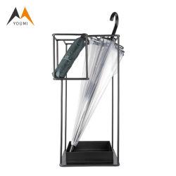 Paraguas de Metal Comercial portátil Expositor para interiores del Hotel
