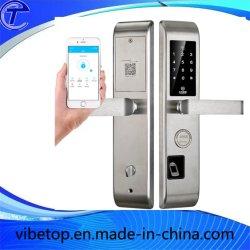 Bloqueio de impressões digitais inteligentes à prova de bloqueio inteligente de cadeado para a porta principal