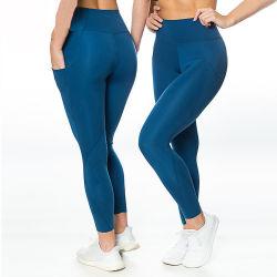 أحدث تصميم صالة الألعاب الرياضية النشاط تمرين اليوغا النمل النساء النايلون كابري Leggings