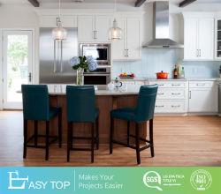 Foshan moderno mobiliário antigo agitador branco a madeira maciça de armários de cozinha