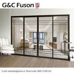 G&C Fuson Australien Standard-Laminat-Glasaluminiumschiebetür