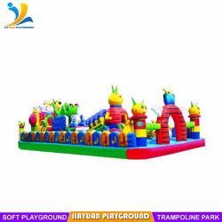 販売、子供の楽しみのための膨脹可能なゲームのための使用された跳ね上がりの家