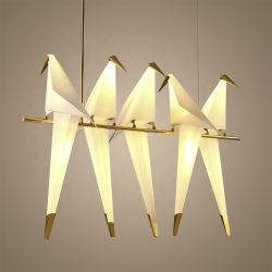 ホーム装飾のための北欧のペーパークレーンペンダント灯