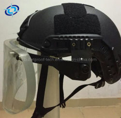 고품질 빠른 작풍 화재 싸움 헬멧 안전 방어적인 헬멧 및 유리제 방호마스크