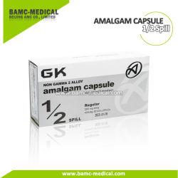 Gk Capsule en alliage d'amalgames dentaires 43%AG 1/2déversement 200mg