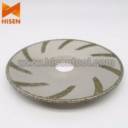 125mm a plaqué la forme de diamant scie la lame pour le marbre