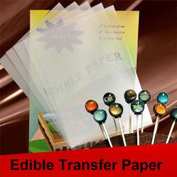粘着性のライスペーパープリンターベーキング写真の世代別印刷の透過ロリポップのビスケット蛋白質の砂糖チョコレート熱転写紙