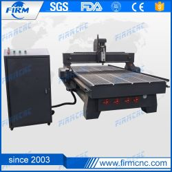 El husillo de refrigeración de aire 1325 grabado en madera CNC Máquina de corte tabla de vacío