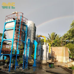 Produzione di elettricità delle coperture della noce di cocco dei 2019 nuova di energia della biomassa di gassificazione fornitori della centrale elettrica