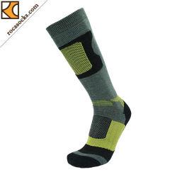 Der Männer wärmen Ski-Merinowolle-Sport-Socken (161002SK)