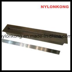 Nouveau style moderne de type manuel PVD noir Ti Inddor plaqué cheminée bio éthanol brûleur