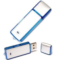 Unidade Flash USB dictafone 2 em 1 de 16 GB de memória 8GB mini gravador de voz
