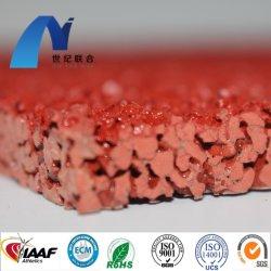 Seguridad Popular y ambientalmente adhesivo de poliuretano PU materia prima para la pista de atletismo