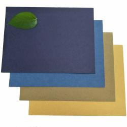 Um4 230gsm de grãos de couro branco da tampa de Encadernação em papel com relevo