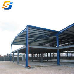 А также разработана структура Two-Storey стальные здания из сборных конструкций