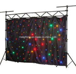 4m*8m Rgbw LED Stern-Vorhang, LED-Stern-Tuch