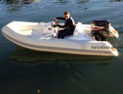 Yacht gonfiabile della barca della nervatura del battello pneumatico di Liya 3.8m FRP da vendere