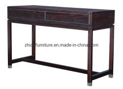 Apprettatrice di legno della camera da letto del salone della Tabella di sezione comandi del nero di caso di progetto