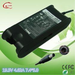 DELLのための19.5V 4.62A 90Wのコンピュータのラップトップの交流電力のアダプターのノートの充電器