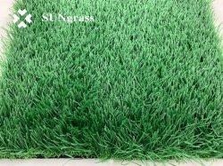 35mmフィールド緑の人工的な草の総合的な草の庭の草の景色